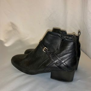 Cole Haan, Grand Zero leather booties